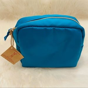 New Clarins Makeup pouch, cosmetic bag.